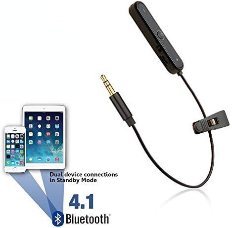 REYTID Bluetoothアダプター Skullcandy Aviator & Aviator 2.0ヘッドホン対応 - ワイヤレスコンバーターレシーバー オンイヤーイヤホン