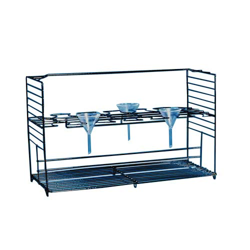 Accurate Wire Craft 122510BK Funnel Support Rack, 273.05'' Length, 644.525'' Width, 412.75'' Height by Accurate Wire Craft