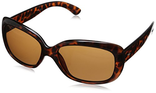 Foster Grant Women's Election Polarized Wrap, Tortoise, 58 ()