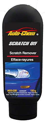 Auto-Chem Professional (655-008) SCRATCH OFF - Scratch Remover and Headlight Lens - Lenses Polishing Plastic