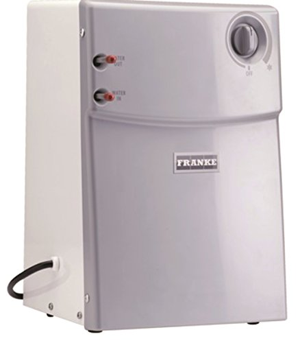 Franke CT-200 Little Butler Under Sink Filtration Cold Water Chiller Tank, White, Large, Stainless Steel