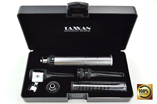 - TAXXAN VETERINARY OTOSCOPE ENT DIAGNOSTIC SET WITH METAL ADAPTER TO USE STANDARD DISPOSABLE SPECULUM