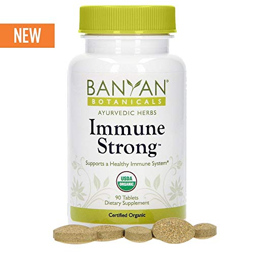 - Banyan Botanicals Immune Strong - USDA Certified Organic - 90 Tablets - Supports Healthy Immune Response & Strengthens The Body's Natural Defenses*