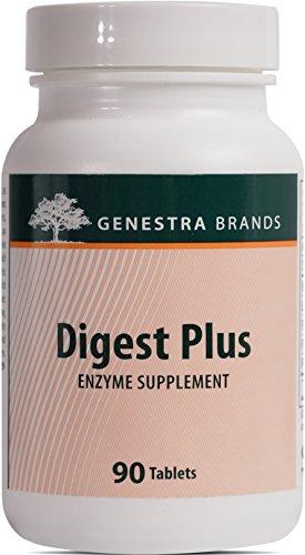 Genestra Brands - Digest Plus - Digestive Enzymes Formula - 90 Tablets
