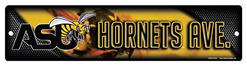 - Rico NCAA Alabama State Hornets 16-Inch Plastic Street Sign Décor