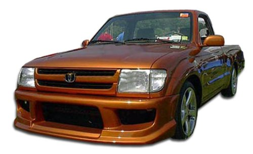 Toyota Tacoma Fiberglass - Duraflex ED-LVV-087 Drifter Front Bumper Cover - 1 Piece Body Kit - Compatible For Toyota Tacoma 1995-2000