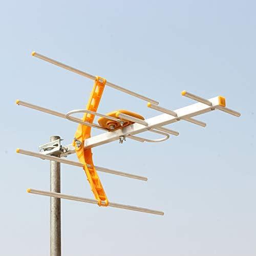 lanlan Antena TV Externa Digital HD para dvbt2 HDTV ISDBT ...