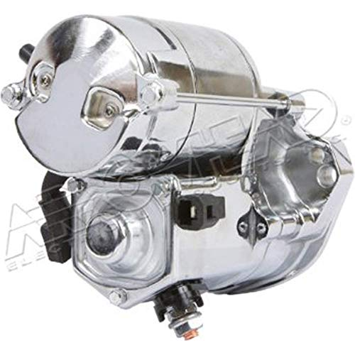 1.2kw Starter Motor - Chrome 2003 Harley Davidson FLHTCUI Electra Glide Ultra Classic Street Motorcycle