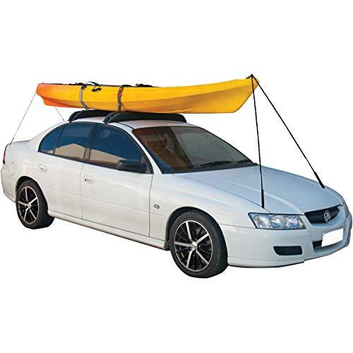 "RORAIMA Universal Folding Lightweight Anti-vibration Roof Rack Pad for Kayak/Canoe/Surfboard/Paddle Board/SUP/Snow Board and Water Sports Accessories 36""X 4.5""X 3.1"" (85 x 11.5 x 8 cm) 2 pcs/Set Black"