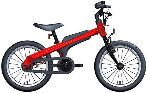 YSA Bicicleta para niños Bicicleta para niños y niñas, Ruedas de Entrenamiento Bicicleta de aleación de Aluminio de 16 Pulgadas para aviación, Bicicletas para niños de 5-8 años: Amazon.es: Hogar