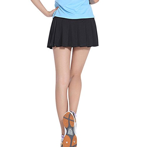 be2a5c8188 TopTie Girls Tennis Skirt, Sports Skort with Underwear Covered - Import It  All