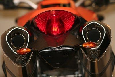 """R&G """"Tail Tidy"""" fender eliminator, KTM Superduke 990 (all years), Superduke R 2012"""