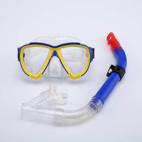 QXXNB Gafas de Buceo, Traje de Snorkel, Snorkel Semi-seco ...
