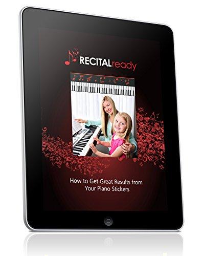 Las mejores etiquetas adhesivas para el teclado con notas clave para piano de color para adultos y lecciones para niños, LIBRO ELECTRÓNICO GRATUITO, excelente para los principiantes Libros de música, recomendados por los maestros para aprender a tocar