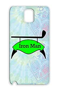 Dirtproof Golf Golf Sports Case Cover For Sumsang Galaxy Note 3 Green