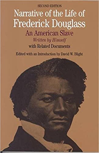 narrative of the life of frederick douglass an american slave  narrative of the life of frederick douglass an american slave written by himself bedford series in history and culture frederick douglass