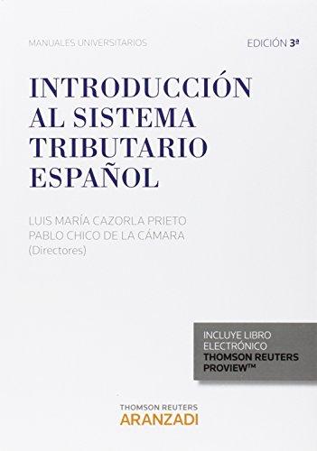 Descargar Libro Introducción Al Sistema Tributario Español Luis María Cazorla Prieto