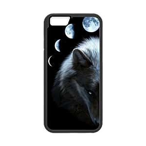 Wolf Pattern iphone6 Phone Case Custom Case for iPhone6 4.7 inch (Laser Technology) wangjiang maoyi