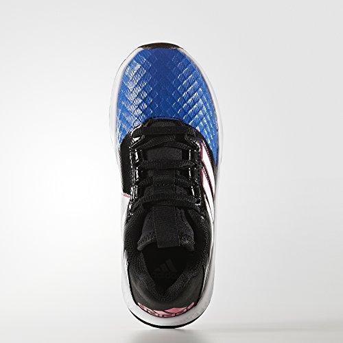 adidas RapidaTurf ACE K - Zapatillas de fútbolpara niños, Negro - (NEGBAS/FTWBLA/AZUL), -31