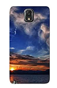 [JlgjtcX3748PbrbY] - New Sunset At The Mountain Lake Protective Galaxy Note 3 Classic Hardshell Case
