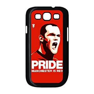 C-EUR Diy case Wayne Rooney customized Hard Plastic Case For Samsung Galaxy S3 I9300 [Pattern-4]