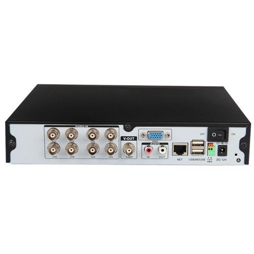 SUNLUXY® DVR con 8 Canales H.264 Soporta Disco Duro hasta 2TB CCTV DVR Video Vigilancia de Seguridad para Negocio y Hogar -Negro: Amazon.es: Electrónica