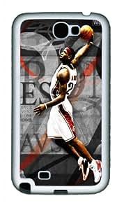 Lebrin James style Samsung Galaxy Note 2 N7100 soft Case Cover Protector, case for Samsung Galaxy Note 2 N7100