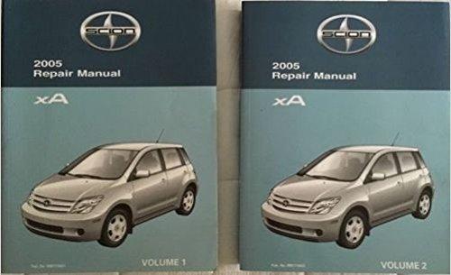 2005 Toyota Scion Xa Service Shop Repair Workshop Manual Set W Wiring Diagram Toyota Amazon Com Books