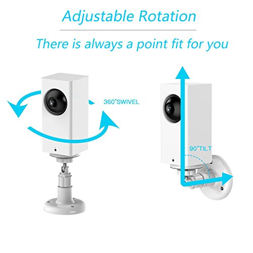TV Wall Mounts Accessories Wyze Cam Pan Wall Mount, 360 Degree Adjustable  Swivel Ceiling Wall Mount | PrestoMall - TV Accessories