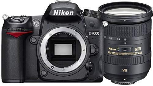 Nikon D7200 24.2 MP Digital SLR Camera (Black) with AF-S DX 18-200mm VR2 Kit Lens,16 Card and Carry Case 1