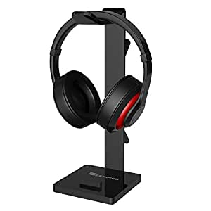geekdigg gaming headset headphone stand holder with cable organizer cellphone. Black Bedroom Furniture Sets. Home Design Ideas
