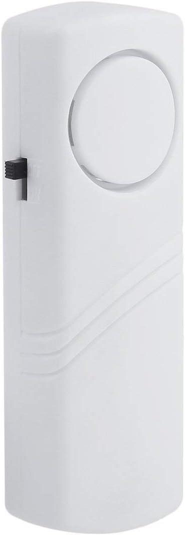 SeniorMar Porte Fen/être sans Fil Alarme Antivol avec Capteur Magn/étique S/écurit/é /À Domicile sans Fil Syst/ème Plus Long Dispositif de S/écurit/é Blanc en Gros