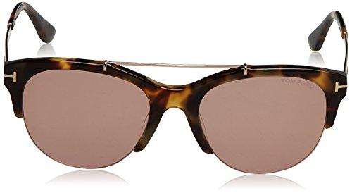 Tom Ford Sonnenbrille Adrenne (FT0517) HAVANA WITH ROSE