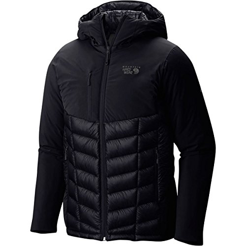 Black Supercharger - Mountain Hardwear 1649791 Men's Supercharger Insulated Jacket, Black - Small
