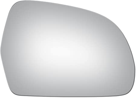 X AUTOHAUX Mirror Glass Heated with Backing Plate Passenger Right Side for AUDI A3 S3 A4 S4