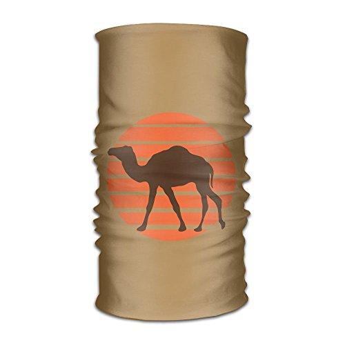 HEHE TAN Unisex Beanie Camel With Sun Multifunctional Bandanas Sweatband Elastic Turban Headwear (Tan Camel Hair)