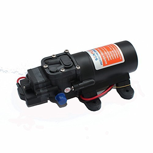 Water Pressure Pump 12V 40PSI /2.8bar Industry RV Marine Agriculture