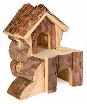 Trixie Bjork Log Cabin for Hamsters by Trixie 6176