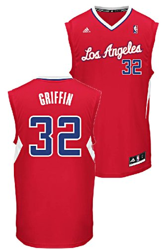 NBA Los Angeles Clippers Blake Griffin #32 Youth Replica Road Jersey, Red, Small