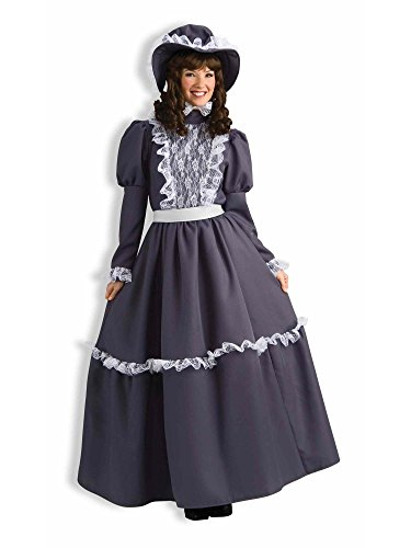 Forum Novelties Women's Prairie Lady Costume, Gray, Standard 14/16]()
