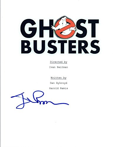 Ivan Reitman Signed Autographed GHOSTBUSTERS Full Movie Script COA VD