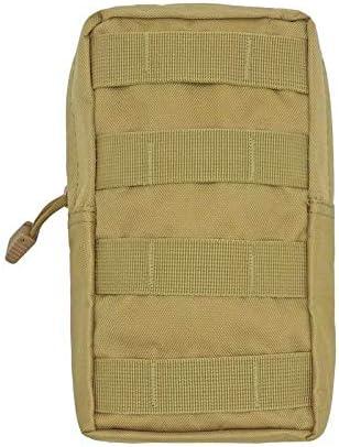 5Five Tactique Militaire Molle Nylon Imperm/éable Sacoche de Lampe Torche Etui Poche Lampe de Poche et Batterie