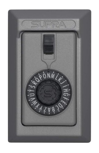 Kidde AccessPoint 001014 KeySafe Original 5-Key Permanent, Spin Dial, Titanium Gray