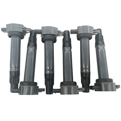 Amrxuts 8pcs//lot Ignition Coil Packs for Nissan 2005-2006 Armada 2004 Pathfinder 2004-2007 Titan for 2004-2006 Infiniti Qx56 5.6L V8 22448-7S015 C1483 5C1482 UF510
