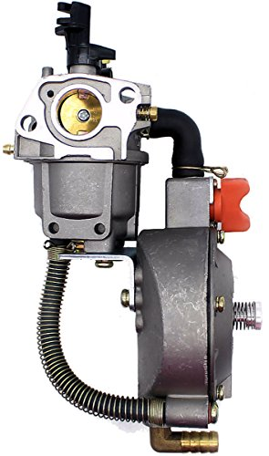 New Dual Fuel Carburetor Gasoline LPG/NG Generator Conversion Kit 2KW 3KW Fits GX200 GX160 168F
