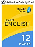 Software : Rosetta Stone: Learn English (American) for 12 months on iOS, Android, PC, and Mac - mobile & online access [PC/Mac Online Code]