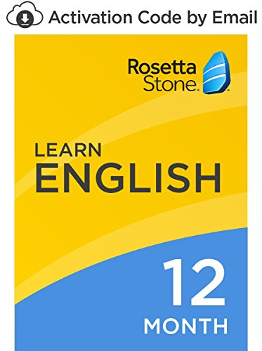 Rosetta Stone: Learn English (American) for 12 months on iOS, Android, PC, and Mac [Activation Code by Email] (Stone English Rosetta American)