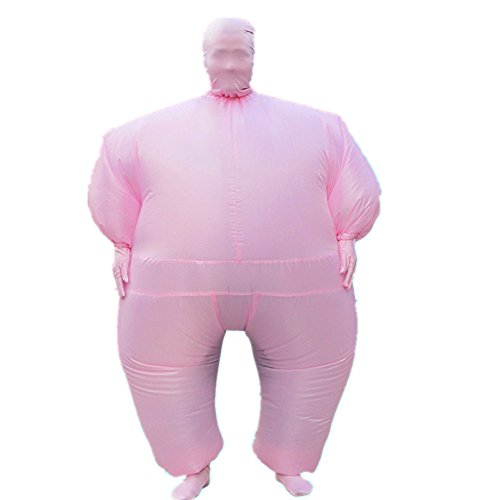 Inflatable Chub Suit Adult Costume Apparel Bodysuits (Cosplay Costumes For Fat Guys)