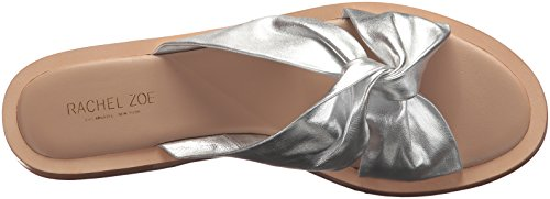 Rachel Zoe Women's Hampton Flat Sandal Silver DtKQT0J8