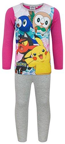 Price comparison product image Noisy Sauce Pokemon Characters Girl's Pyjamas (5-6 Years)